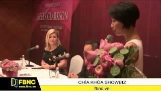 Kelly Clarkson lần đầu tiên đến Việt Nam biểu diễn