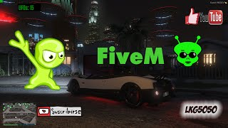 GTA V PC Mod FiveM : impresionante invasión UFOs!!!