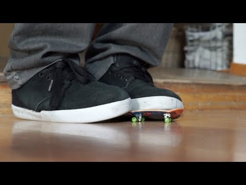 720 Flip On A Fingerboard?! (Done With Feet Only)