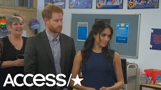 Meghan Markle Gets Emotional Speaking To Australian Girls School | Access