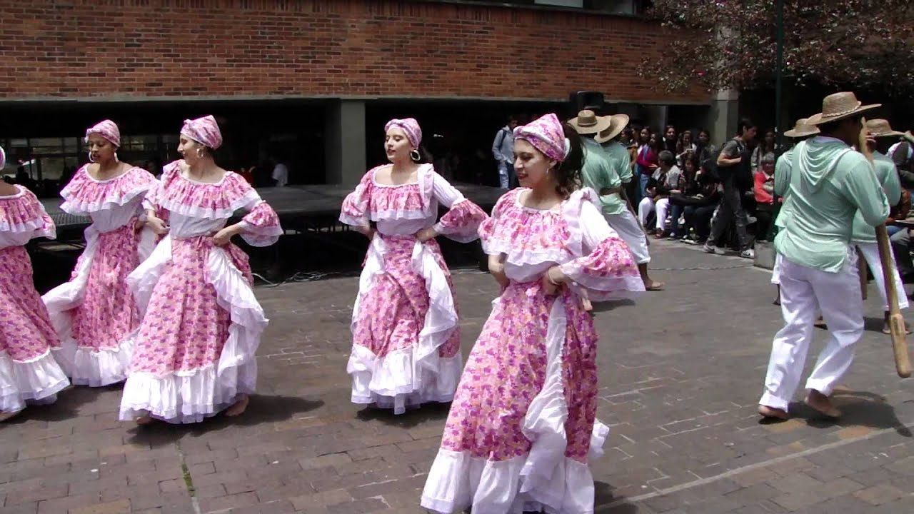 danza colombiana: