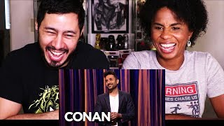 VIR DAS STAND UP ON CONAN | Reaction w/ Cortney!