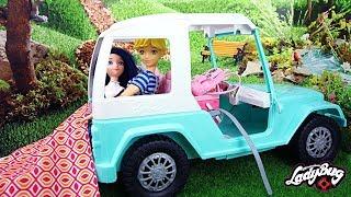 Miraculous Family Challenge 24Hours in Barbie Car, Adrinette 24 heures dans une voiture!
