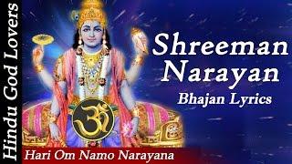 """""""Hari Om Namo Narayana"""" """"Shreeman Narayan Narayan Hari Hari"""" """"Narayana Full Songs"""" """" Bhajan Lyrics"""""""