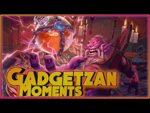 Hearthstone - Gadgetzan Moments - Funny and lucky Rng Moments