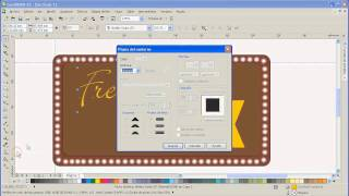 TUTORIAL COREL DRAW: Wallpaper bmx