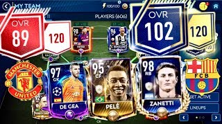 Fifa 19 Mobile ! 80 to 100 OVR Upgrades,Champions league masters program in market and Backpassing
