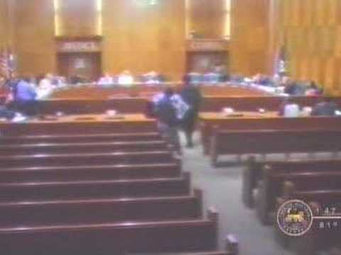 Houston City Council - Public Comment (2006-08-22) Video