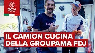 Dentro al camion cucina della Groupama FDJ | Giro d'Italia 2019