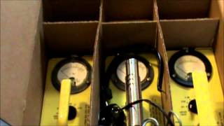 5/28/2011 -- 1 geiger counter, 2 survey meters, and 3 Dosimeter arrive