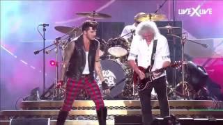The Show Must Go On Hd Rock In Rio Queen Adam Lambert