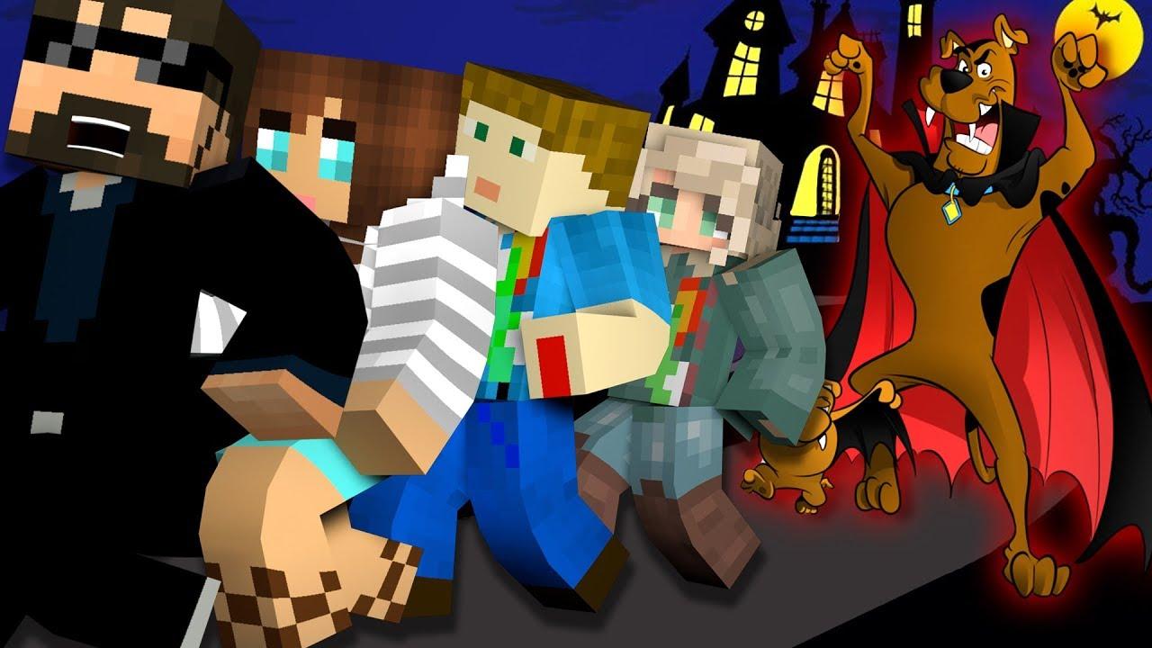 Minecraft: SCOOBY-DOO MURDER   MODDED MINI-GAME