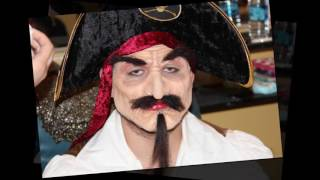 PIRATE MAKEUP BY ICL IMAGEN FACIAL STUDENTS