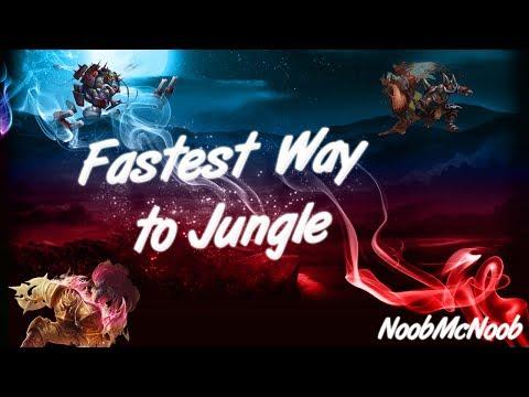 Fastest Way To Jungle - Legionnaire Legion