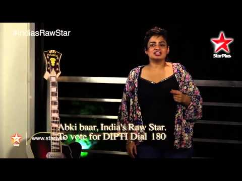 India's Raw Star: Vote for Raw Star Dipti!