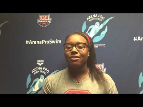 Simone Manuel Happy To Race Against Stacked 100 Free Field