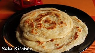 How to make Soft Parotta / Kerala poratta
