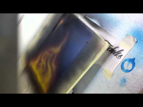 How to airbrush  fire - A quick tutorial