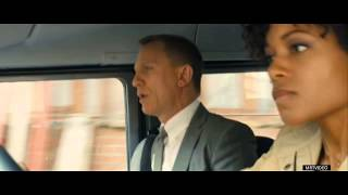Movie Clip: Audi vs Land Rover(007) Chase Scene in SKYFALL (2012)