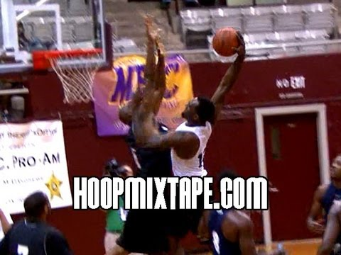 UNC's P.J. Hairston Dunks ON UNC Alum Jerry Stackhouse!!!