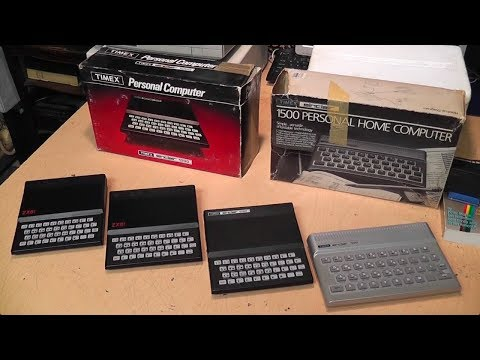 Those tiny '80s computers: Sinclair ZX81, Timex 1000 & 1500