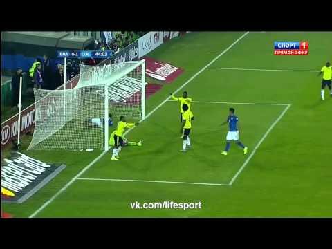 Бразилия 0:1 Колумбия   Кубок Америки
