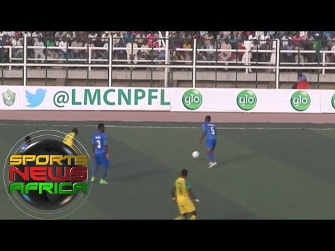 Sports News Africa Online: Kano Pillars beat rivals Enyimba in the Nigeria Premier League