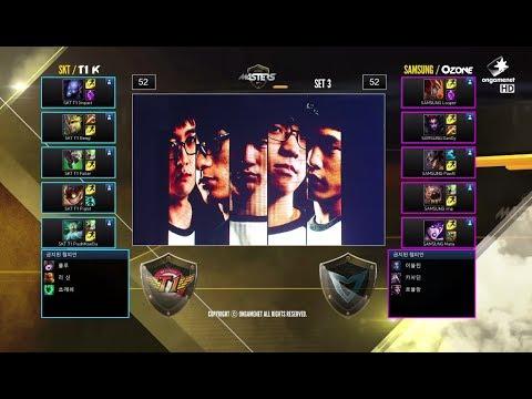 SK Telecom T1 K vs Samsung Galaxy Ozone | Game 3 Grand Finals SK Telecom LTE-A LoL Masters 2014
