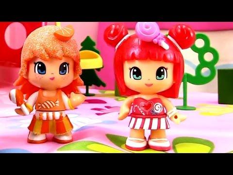 Мультики для девочек: Апельсинка и Конфетка. Чаепитие. Видео для детей. Strawberry shortcake