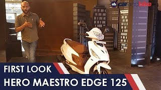 2019 Hero Maestro Edge 125 First Look