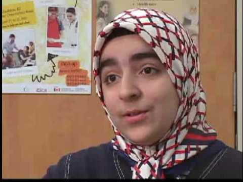 Peer Leader Nasrin Comments On Newcomer Orientation Week (now) video