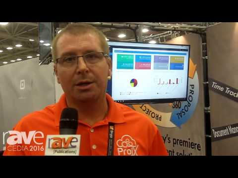 CEDIA 2016: ProjX360 Shows Off Management Solution Software for Custom Integration
