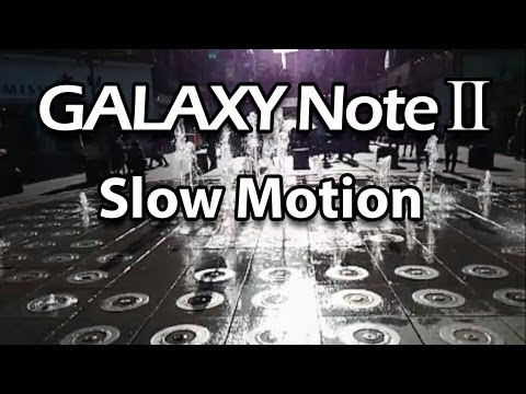 Samsung Galaxy Note 2 Slow Motion Video Sample 1/8 Speed