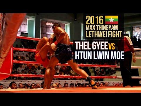 Lethwei Fight, Htun Lwin Moe Vs Htal Gyi, 2016 April