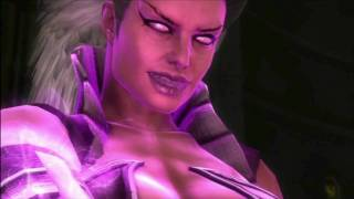 MK9 story mode Chapter 15 Nightwolf (and Sindel) cutscenes