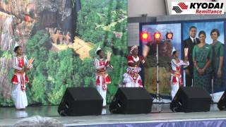 "Kyodai  Traditional Sri Lanka Dance 3 ""Sri Lanka Fest Japan 2012"" -Kyodai TV-"