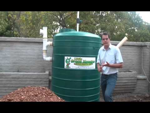 Biogas Digester Introduction The Little Green Monster