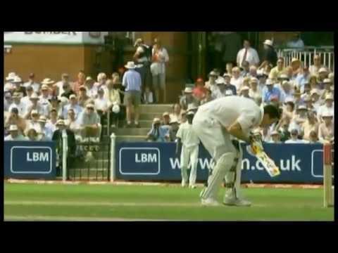 Kevin Pietersen out hit-wicket to Dwayne Bravo