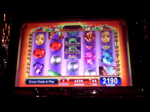 Shimmer Bonus Win on Slot Machine