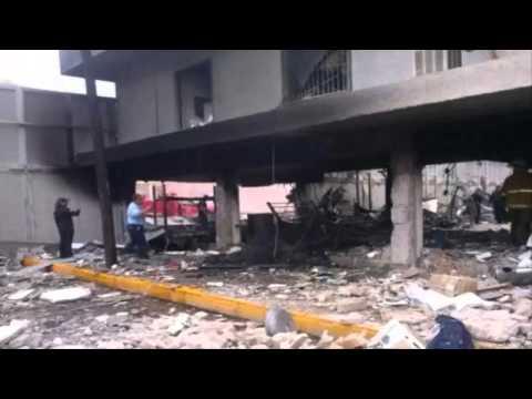 SAT rechaza especulaciones por explosión en aduana de Piedras Negras