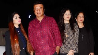 Download Anu Malik With Gorgeous Daughters At At Badrinath Ki Dulhania Special Screening 3Gp Mp4