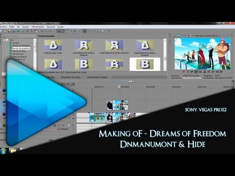 Making of - One Piece AMV - Dreams of Freedom [Sony Vegas]'][0 ...