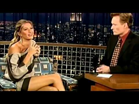 Gisele Bundchen on Conan O'Brien on Late Night With Conan O'Brien