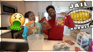 HOOD KITCHEN: MAKING PRISON BURRITOS AND KOOL AID w/ My Sister Brooklyn! *Hilarious*
