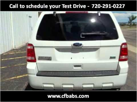 2010 Ford Escape Used Cars Engwood CO
