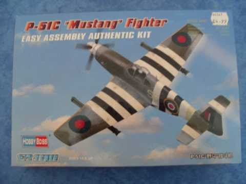 HOBBYBOSS 1/72 P-51 C Mustang - A Building Review