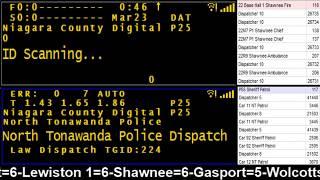 03/23/18 AM Niagara County Police & Fire Scanner Stream Fire Wire