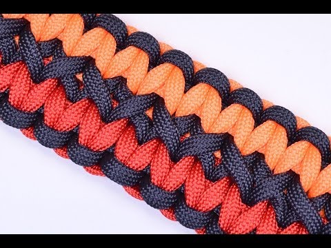 Make the Double Wide Soloman Paracord Survival Bracelet - BoredParacord