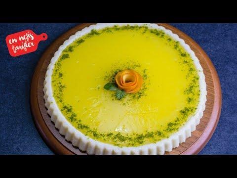 Portakallı ve Sütlü İrmik Tatlısı Nasıl Yapılır? Sütlü Kolay Tatlı Tarifi (İrmikli Tatlı Tarifleri)