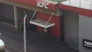 South African KFC Nigger Sharpens Cooking Knives On The Curb Every Morning-Podblanc Comedy